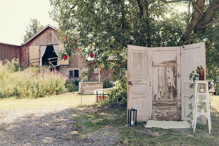 Barn wedding in Sweden