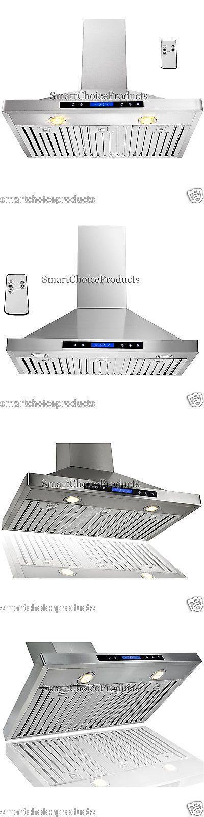 Range Hoods 71253: Gtc Europe 36 Kitchen Wall Mount Stainless Steel Range Hood Vent -> BUY IT NOW ONLY: $269.99 on eBay!