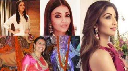 Aishwarya Rai, Shilpa Shetty, Rani Mukerji: Here's what Bollywood celebs are wearing this festiveseason