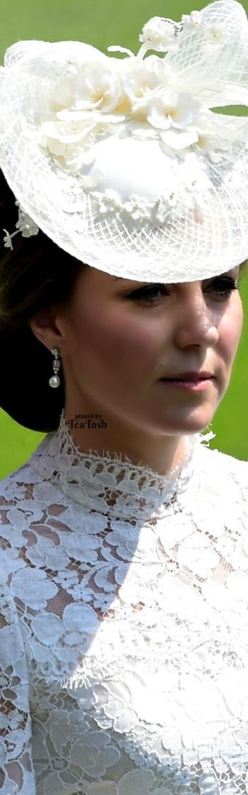 ❇Téa Tosh❇ Kate Middleton, Royal Ascot 2017 at Ascot Racecourse in Ascot, UK