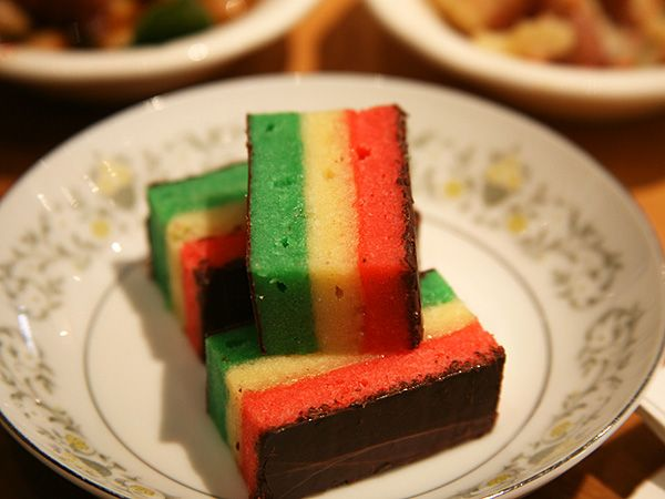 Lidia Bastianich's Rainbow Cookies