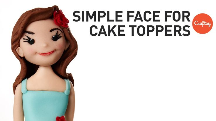 How to Make a Face for Figure Toppers | Cake Decorating Tutorial with Ro...