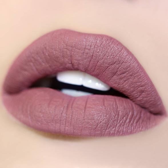 Dopey mauve Ultra Satin Lip swatch