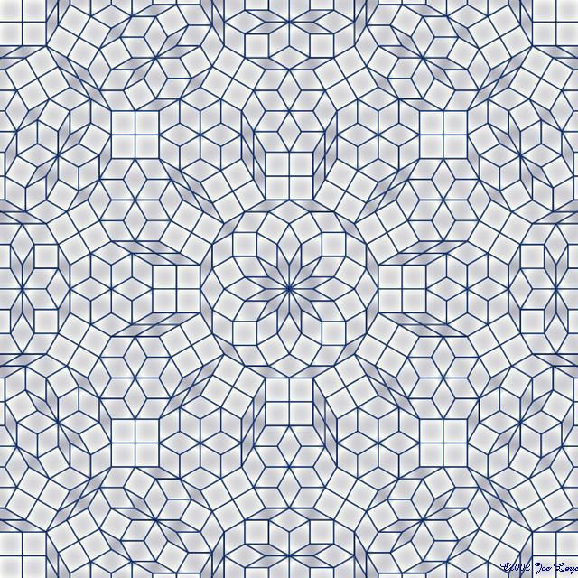 Gallery : Penrose tilings                                                                                                                                                                                 More
