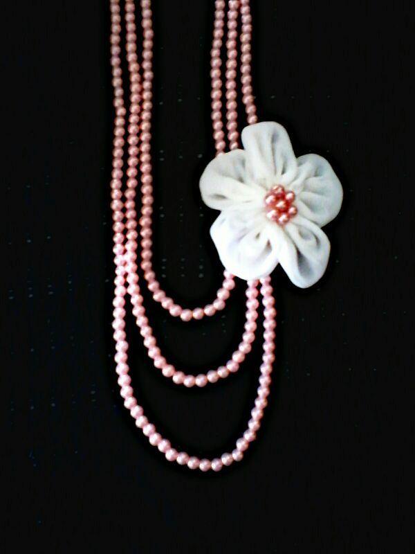 kalung mutiara bunga, IDR 35.000