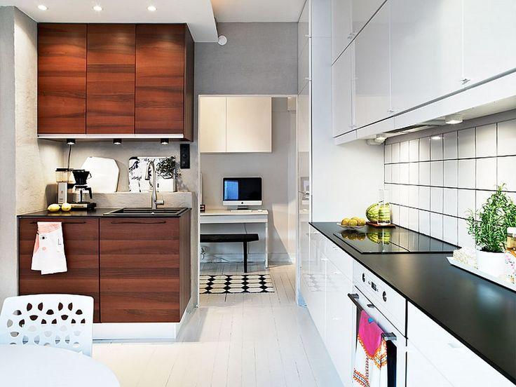 Gemeinsame Schwedische Küche Design Hinzufügen Elegante ...