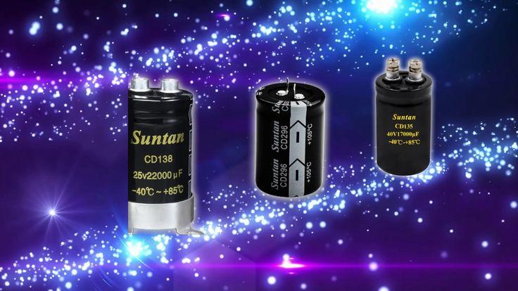 Suntan Smd Axial And Radial Aluminum Electrolytic Capacitors Electrolytic Capacitor Capacitors Sun Tan
