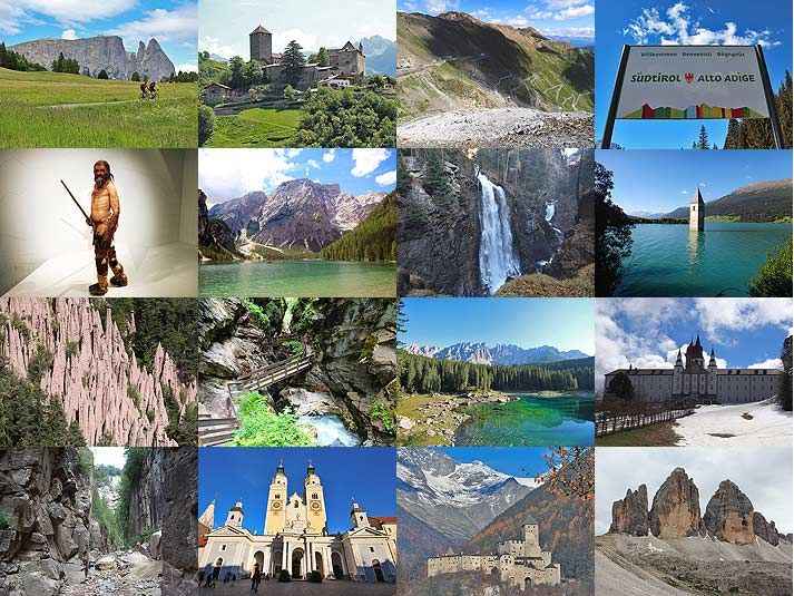 Sehenswürdigkeiten in Südtirol, die man gesehen haben muss