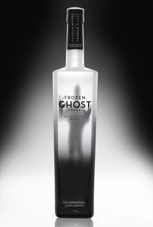 Frozen Ghost Vodka #design