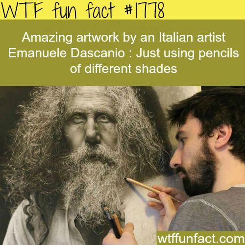wtf-fun-factss:  Emanuele Dascanio's art work -WTF fun facts