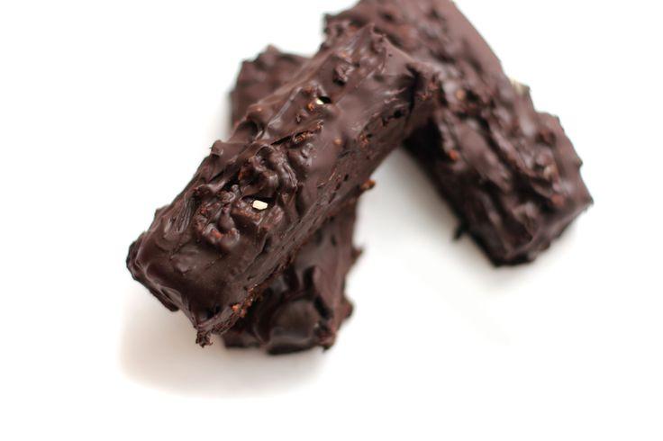 Double Dark Chocolate & Nut Protein Pow Bars