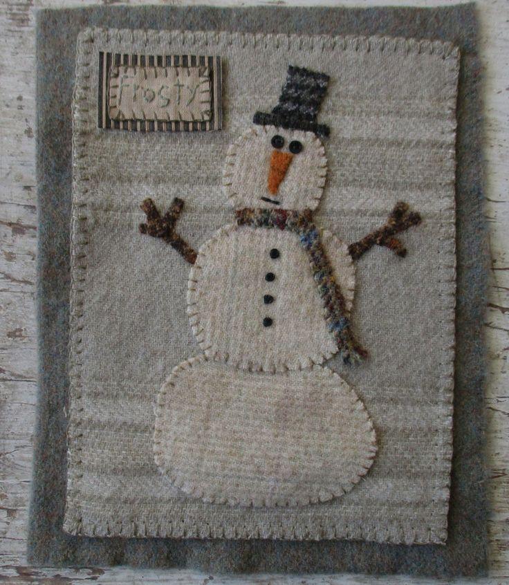 Primitive Junky: Snowman Frosty