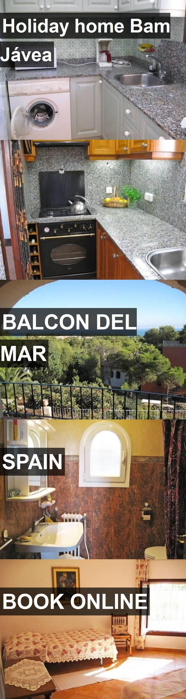 Hotel Holiday home Bam Jávea in Balcon del Mar, Spain. For more information, photos, reviews and best prices please follow the link. #Spain #BalcondelMar #travel #vacation #hotel
