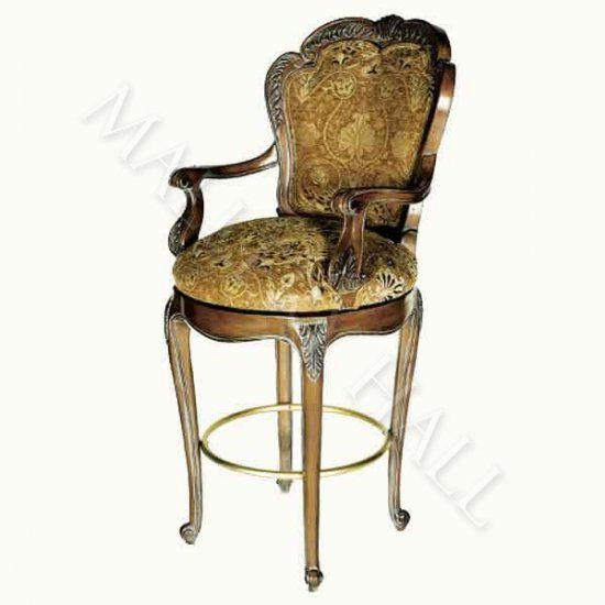 Old World Bar Stool Pair