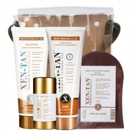 NEW PRODUCT ALERT: Xen-Tan Travel Kit Value set. Perfect for any trip!