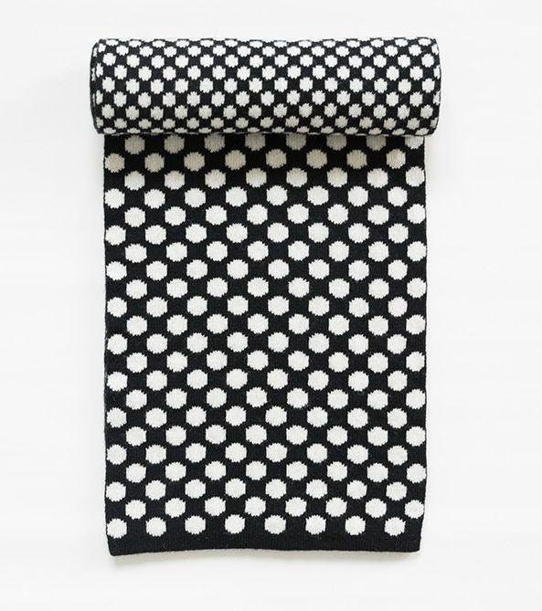 My favorite polkadot scarf by Alina Piu, from Yalo