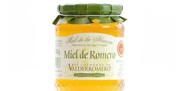 MIEL DE ROMERO DE LA ALCARRIA. Golosa, deliciosa, única miel de La Alcarria, procedente de flores de romero, la más típica de esta Denominación de Origen. Esta miel, más clara que la milflores, con un gusto muy personal, marcado por el romero típico de la zona de la Alcarria. Muy fragante.  En boca es cremosa, suave, dulce no empalagoso, con ligeras notas ácidas muy agradables. http://www.porprincipio.com/miel-y-dulces/226-miel-romero.html#