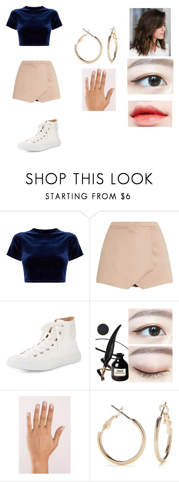 """""""#75"""" by susan-michelle-tavares on Polyvore featuring moda, Chloé, Tobi y Kim Rogers"""
