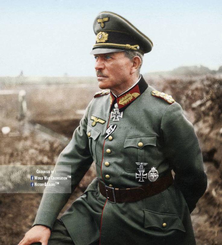 "Generaloberst Heinz Guderian.Father of combined arms warfare aka ""Blitzkrieg"""