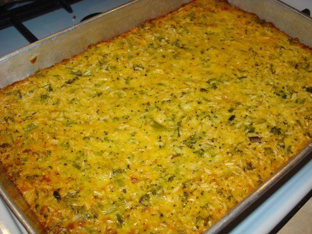 cheese whiz broccoli rice casserole