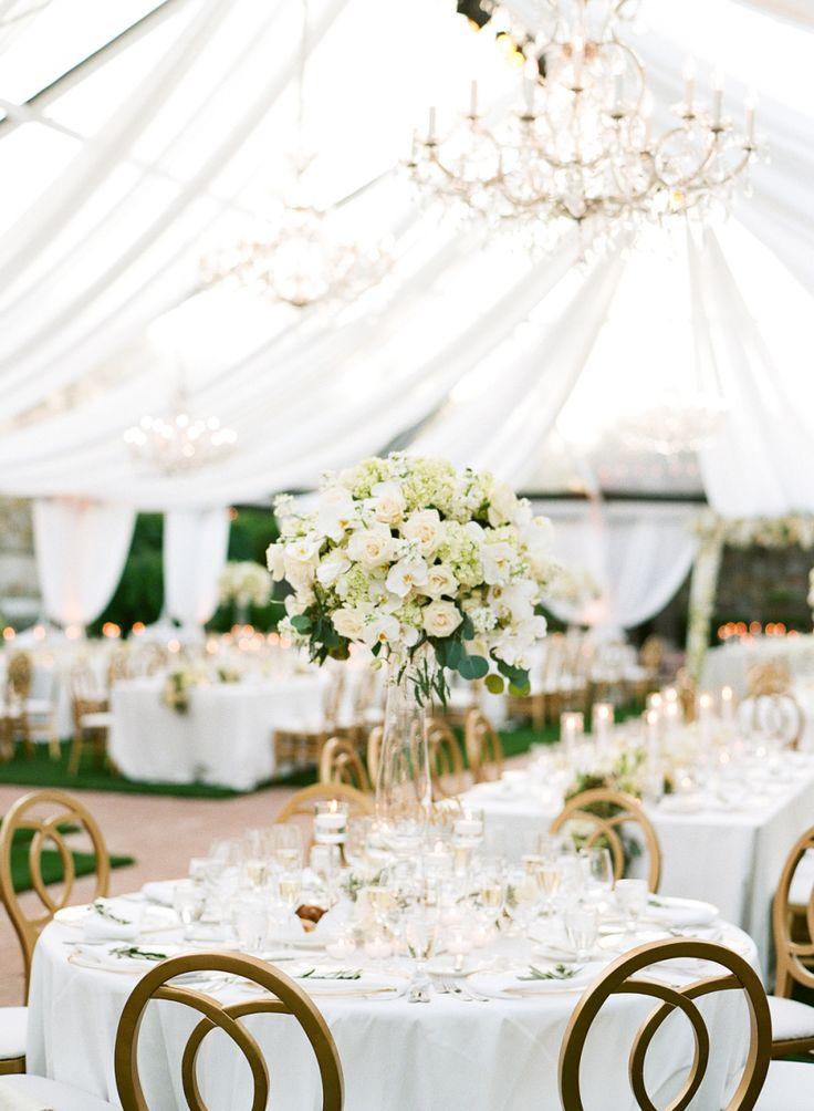 Floral Design: Jennifer Cole Florals - http://www.stylemepretty.com/portfolio/jennifer-cole-florals Wedding Planning: Cole Drake Events - http://www.stylemepretty.com/portfolio/cole-drake-events Photography: Sylvie Gil Photography - www.sylviegilphotography.com/   Read More on SMP: http://www.stylemepretty.com/2017/03/08/glam-napa-valley-vineyard-wedding/