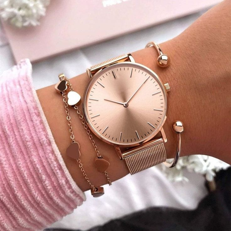 Above Modern Rose Gold Beauty Watch