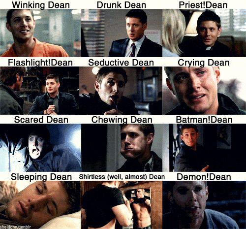 Wszystkie twarze Deana