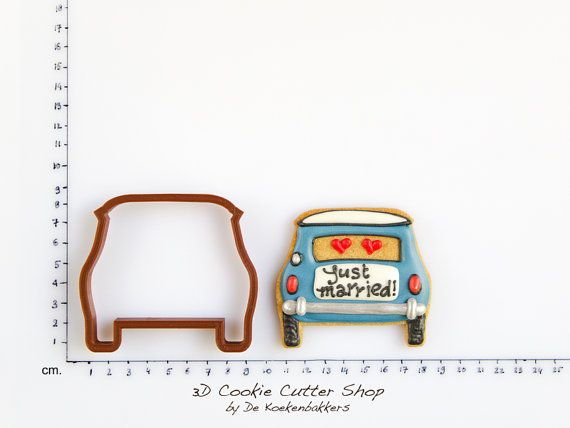 Mini Cooper Cookie Cutter by 3DCookieCutterShop on Etsy