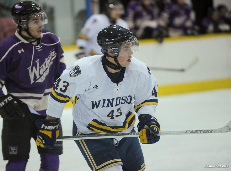 Matt Beaudoin, 2012-13 Men's Hockey, Credit: Edwin Tam