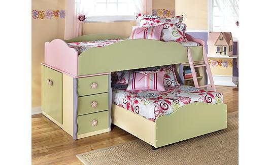 Doll House Loft Bedroom Set For Your Girlly Girl A Doll