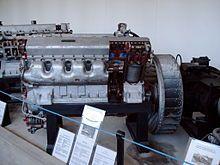 Т-34 — Двигатель В-2-34.