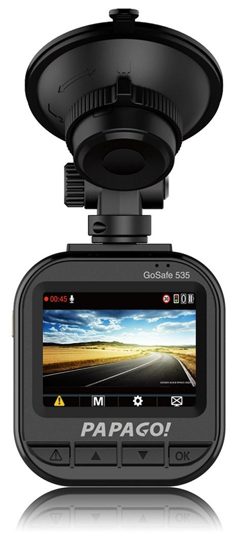 Dash Cam Review: The PAPAGO! GoSafe 535. Overall, it received a 9.3/10 // Dashcam Portal