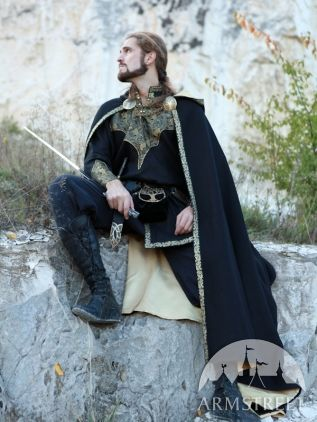 Medieval Fantasy Prince Cloak JUST the cloak.   The shirt is not included... I want one!!!!!