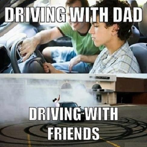 ‪#‎Driving‬ With ‪#‎Dad‬ and ‪#‎Friends‬