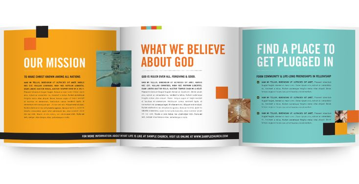 church brochure samples - Google Search | Church Design Ideas ...