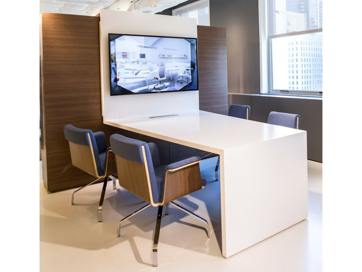 Slate Media Unit With Madrid Guest By Ofs Ofs Neocon