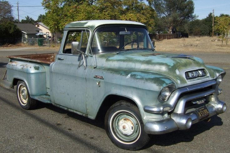 Truck With Attitude: 1956 GMC Pickup - http://barnfinds.com/truck-with-attitude-1956-gmc-pickup/