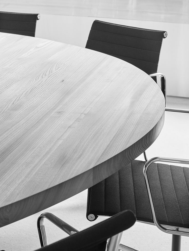 FREIFORM TABLE by INCHfurniture custom made for an office's meeting room.