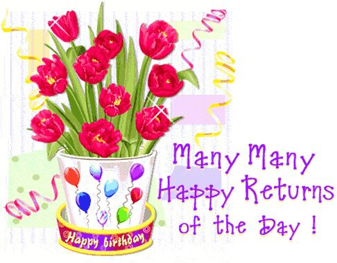 Many Many Happy Returns Of The Day-3 | Quotes | Pinterest ...
