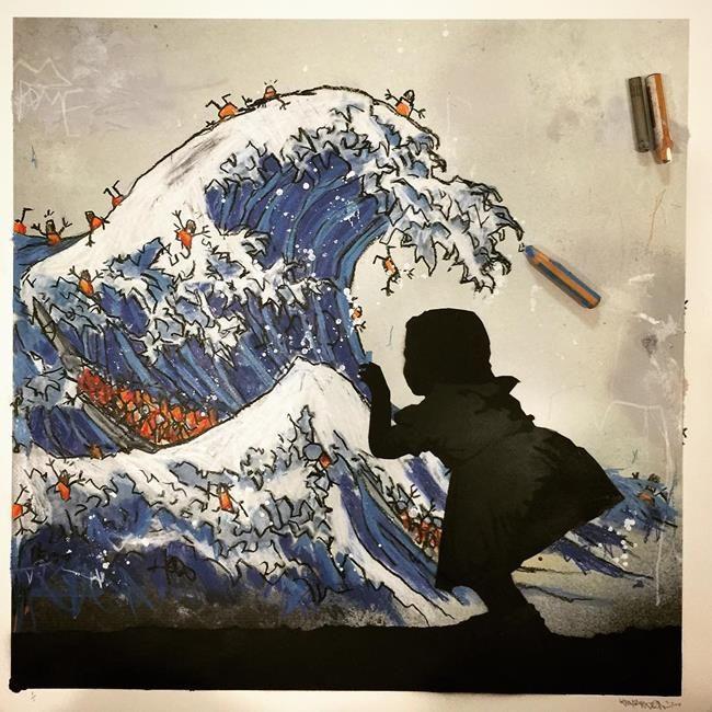Sokakların Yeni Banksy'si Kenny Random'dan Etkileyici Sokak Sanatı Eserleri Sanatlı Bi Blog 10