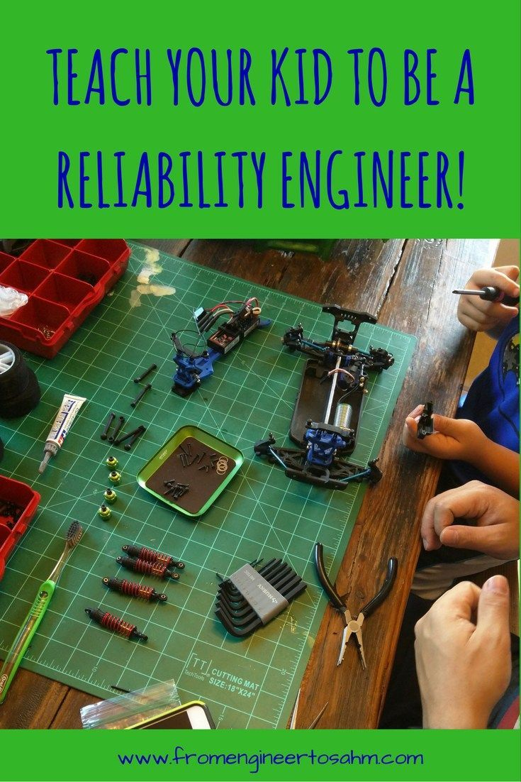Learning to design reliable systems is so important! Teach your child why, and how to think about building reliability into design.