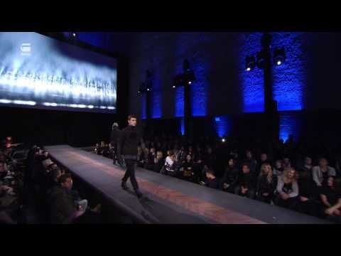 The extended version of the G-Star Fall/Winter 2013 runway show at St. Agnus Kerk in Berlin, Germany. Featuring performances by Anne Soldaat, a ballerina, and Michael Madsen.