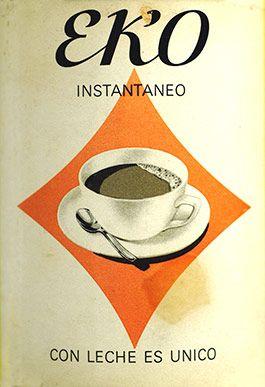 Cartel Eko años 60 – Anuncios vintage Nestlé