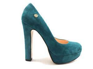 #ISLO #decoltè #camoscio #verde #donna #zooode