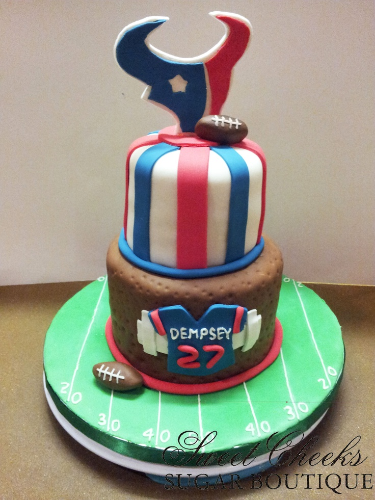 30 Best Images About Texans Themed Birthday Party Cakes
