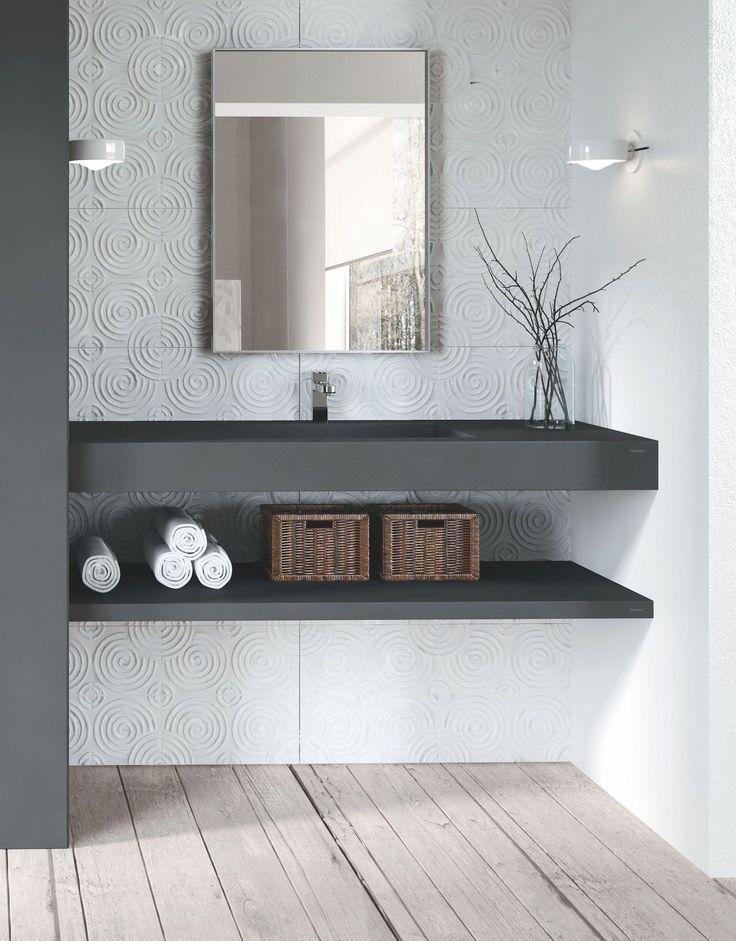 17 beste idee n over zwarte wastafel op pinterest keuken styling zwevende planken keuken en - Badkamer zwarte vloer ...