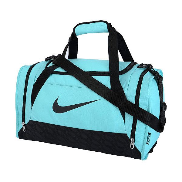 Nike Brasilia 6 Small Duffel Bag ❤ liked on Polyvore