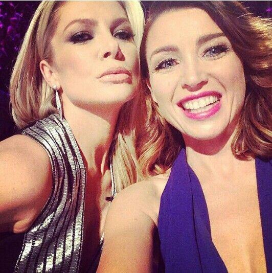 Natalie Bassingthwaighte & Dannii Minogue. Live show 4. The Xfactor Australia