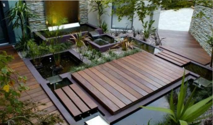 Modern Garden Water Features Designs