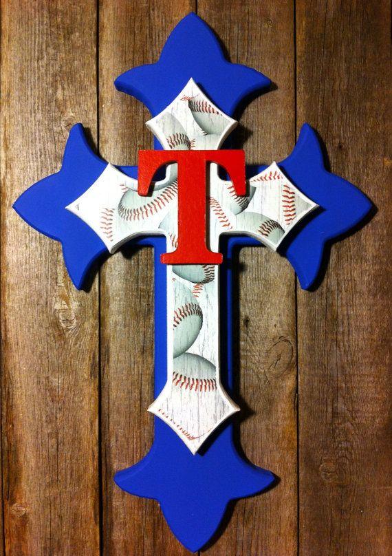 Handmade Custom Texas Rangers Baseball 18 by TheAutumnOwlGifts, $45.00